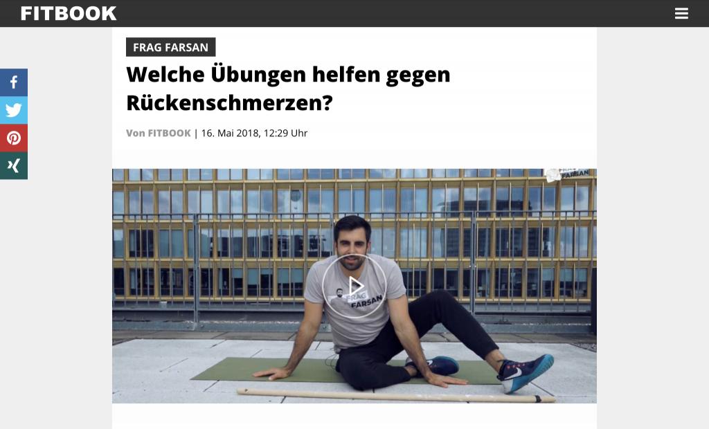 Frag Farsan - Übungen gegen Rückenschmerzen